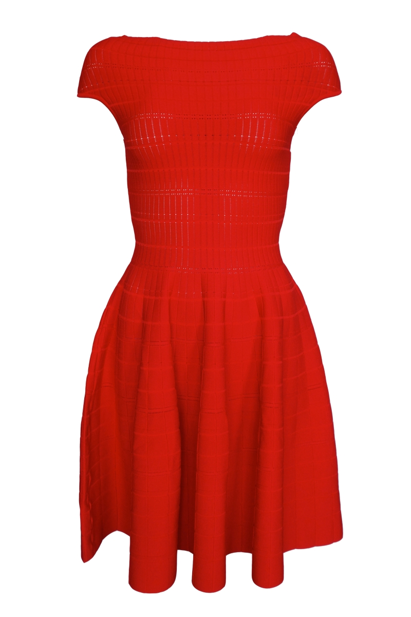 Kleid - Farbe rot