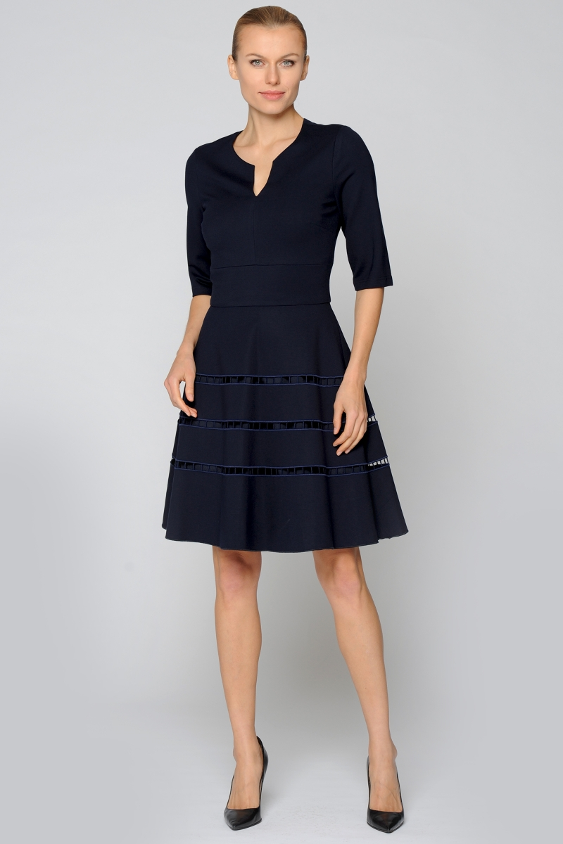 Joana Danciu - Kleid - Grace -navy