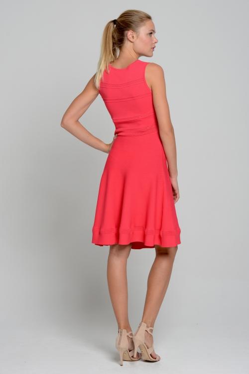 Kleid Emilia peach coral